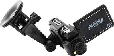 Автомобильный видеорегистратор ParkCity DVR HD 520 - общий вид с креплением