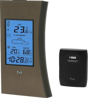 Метеостанция цифровая Ea2 ED603 - общий вид с выносным термодатчиком
