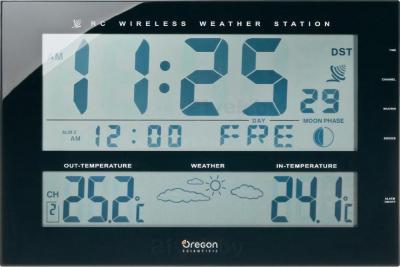 Метеостанция цифровая Oregon Scientific JW102 - общий вид
