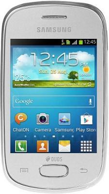 Смартфон Samsung S5282 Galaxy Star Duos (Silver) - общий вид
