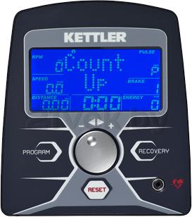 Эллиптический тренажер KETTLER Skylon 1 / 7643-600 - панель управления