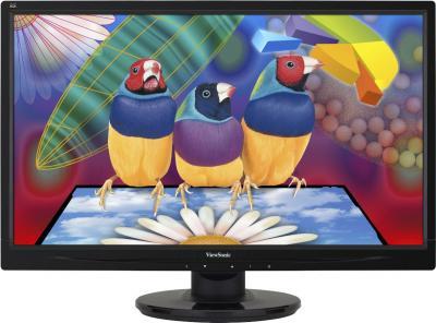 Монитор Viewsonic VA2046A-LED - вид спереди