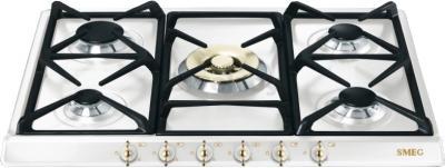 Газовая варочная панель Smeg SPR876BGH - общий вид