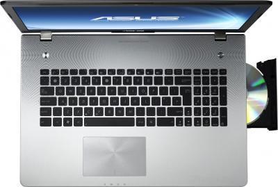 Ноутбук Asus N76VB-T4006H - вид сверху