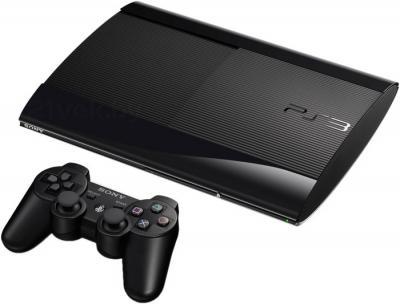 Игровая приставка Sony PlayStation 3 Super Slim 500GB (+ игра) - общий вид