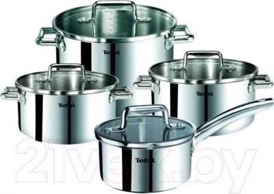 Набор кухонной посуды Tefal Chef Clas Inox C778S854 - общий вид