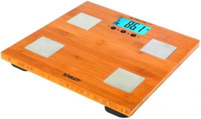 Напольные весы электронные Scarlett SC-2216 (бамбук) - общий вид