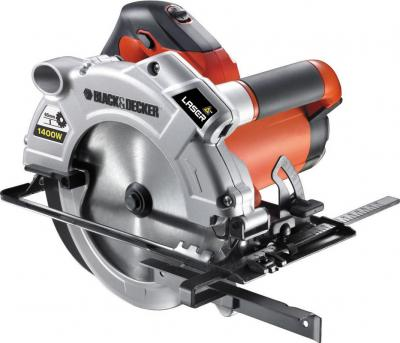 Дисковая пила Black & Decker KS1400L - общий вид