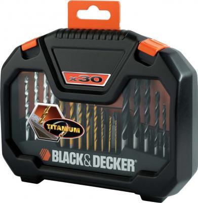 Оснастка, наборы оснастки Black & Decker A-7183 (30 предметов) - общий вид