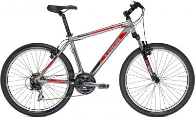 Велосипед Trek 3500 (16, Titanium-Red, 2014) - общий вид