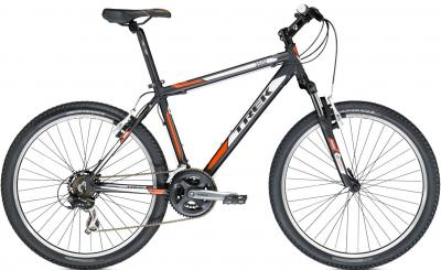 Велосипед Trek 3500 (22.5, Black-Orange, 2014) - общий вид