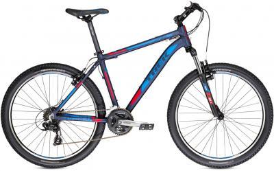 Велосипед Trek 3700 (18, черно-сине-красный, 2014) - общий вид