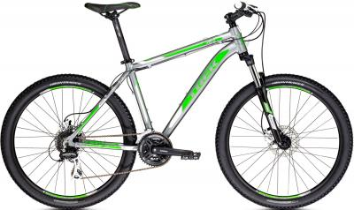 Велосипед Trek 3900 Disc (18, Onyx-Green, 2014) - общий вид