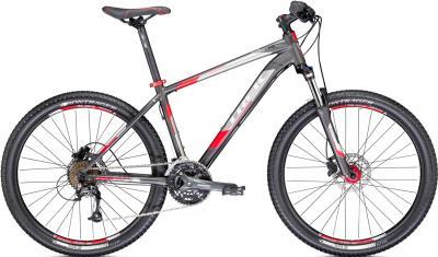 Велосипед Trek 4300 (17.5, Black-Red, 2014) - общий вид