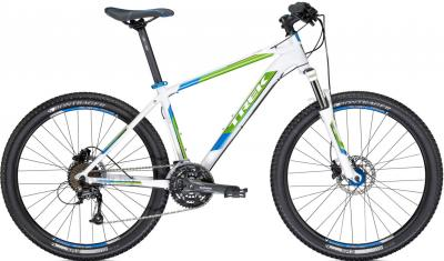 Велосипед Trek 4300 (18.5, White-Green-Black, 2014) - общий вид