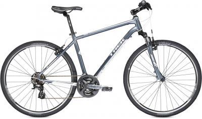 Велосипед Trek 8.2 DS (17.5, Blue-White, 2014) - общий вид