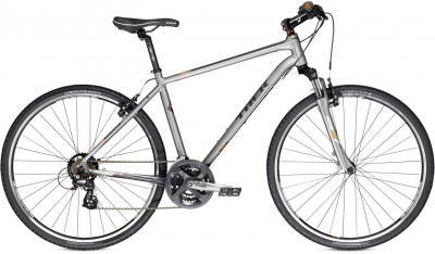 Велосипед Trek 8.2 DS (21, Charcoal-Black, 2014) - общий вид