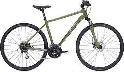 Велосипед Trek 8.3 DS (17.5, Green-Gray, 2014) - общий вид