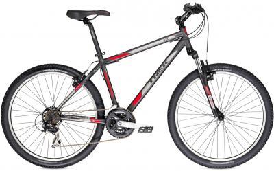 Велосипед Trek 820 (22.5, Black-Red, 2014) - общий вид
