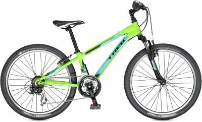 Велосипед Trek MT 220 Boy (24, зеленый, 2014) - общий вид