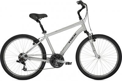 Велосипед Trek Shift 2 (18.5, Silver, 2014) - общий вид