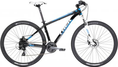 Велосипед Trek X-Caliber 4 (18.5, Black-Blue, 2014) - общий вид