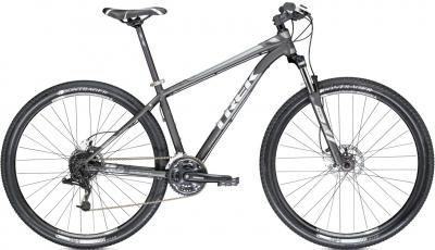 Велосипед Trek X-Caliber 6 (17.5, Black-Silver, 2014) - общий вид
