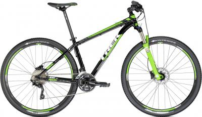 Велосипед Trek X-Caliber 9 (18.5, Black-Green, 2014) - общий вид