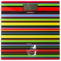 Напольные весы электронные Supra BSS-2080 (черные полоски) -