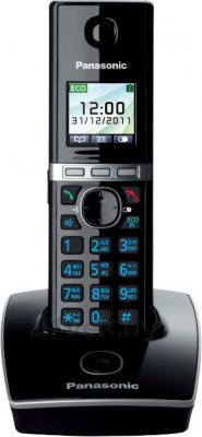 Беспроводной телефон Panasonic KX-TG8051 (Black, KX-TG8051RU3) - общий вид
