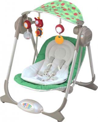 Качели для новорожденных Chicco Polly Swing (Greenland) - общий вид