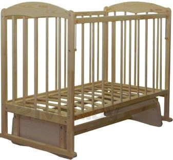 Детская кроватка СКВ 114005 (береза) - общий вид