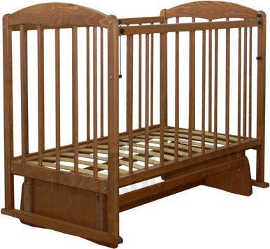 Детская кроватка СКВ 114006 (бук) - общий вид