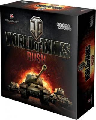 Настольная игра Мир Хобби World of Tаnks Rush 1341 - коробка