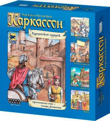Настольная игра Мир Хобби Каркассон. Королевский подарок (2-е русское издание) - коробка