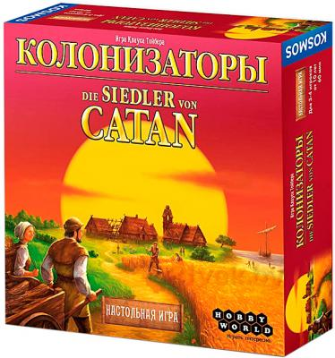 Настольная игра Мир Хобби Колонизаторы (3-е русское издание) - коробка