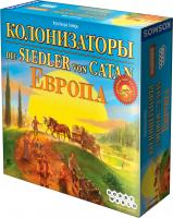 Настольная игра Мир Хобби Колонизаторы. Европа -