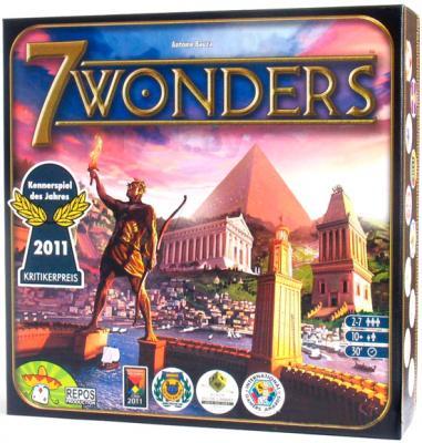 Настольная игра Asmodee 7 чудес / 7 Wonders - коробка