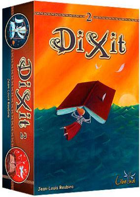 Настольная игра Asmodee Диксит 2 / Dixit 2 (дополнение) - коробка