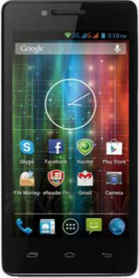 Смартфон Prestigio MultiPhone 5451 DUO (белый) - общий вид