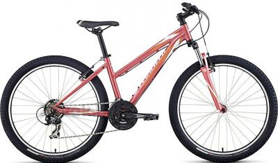 Велосипед Specialized Myka HT ST (M, Coral-Orange-White, 2014) - общий вид