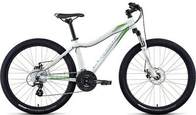 Велосипед Specialized Myka HT Disc (M, White-Green, 2014) - общий вид