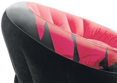 Надувное кресло Intex 68582NP - в розовом цвете