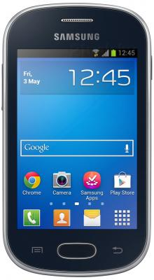 Смартфон Samsung S6790 Galaxy Fame Lite (черный) - общий вид