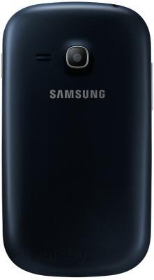 Смартфон Samsung S6790 Galaxy Fame Lite (черный) - задняя панель