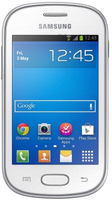 Смартфон Samsung S6790 Galaxy Fame Lite (белый) - общий вид