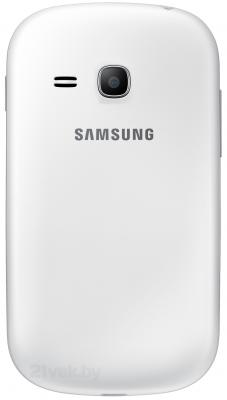 Смартфон Samsung S6790 Galaxy Fame Lite (белый) - задняя панель