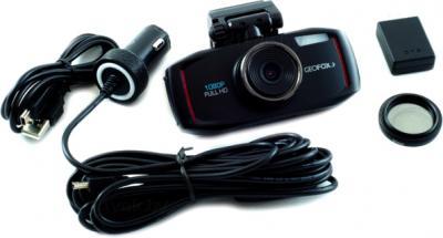 Автомобильный видеорегистратор Geofox DVR960CPL - комплектация