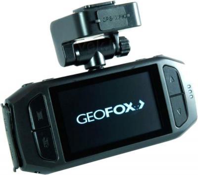 Автомобильный видеорегистратор Geofox DVR990 - дисплей