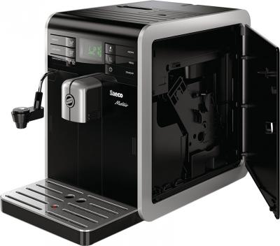Кофеварка эспрессо Saeco Moltio Automatic Milk Frother (HD8768/09) - вид сбоку